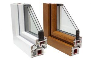 Günstige Fenster aus Polen können auch PVC-Profile in Holzoptik sein