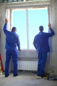 Fenster Polen Montage Neuer Fenster nach RAL